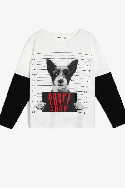 Koton Yazılı Baskılı Sweatshirt 0kkb16335tk