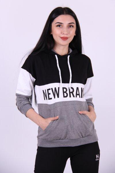 02711 New Brand Bayan Sweat Kapüşon
