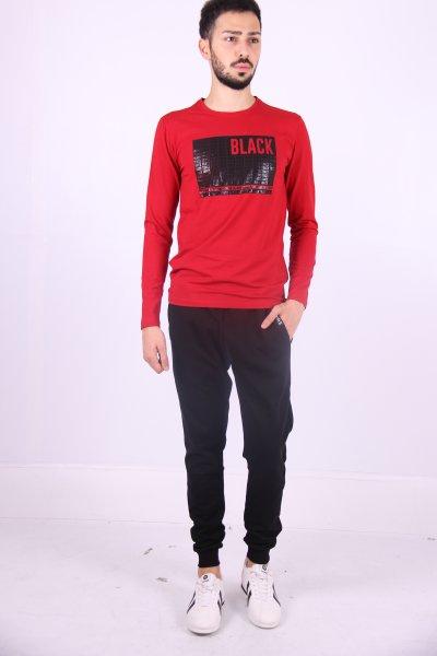02762 New Brand Erkek S-shırt O Yaka