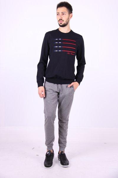 02586 New Brand Erkek Sweatshırt O Yaka