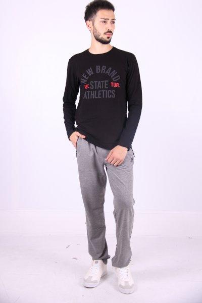 02764 New Brand Erkek S-shırt O Yaka