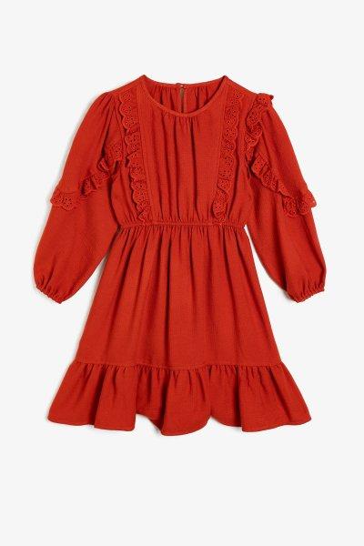 0kkg87942aw Koton Elbise