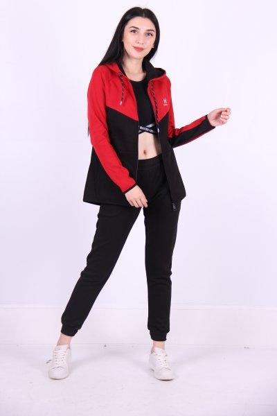 02702 New Brand Bayan Eşofman Takım Ceket/jogger