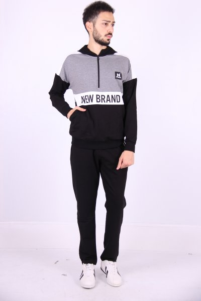 02631 New Brand Erkek Eşofman Düz Paça