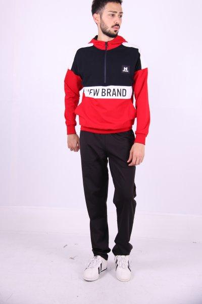 02694 New Brand Erkek Eşofman Düz Paça