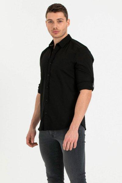 Loft Siyah Erkek Gömlek Lf2010395
