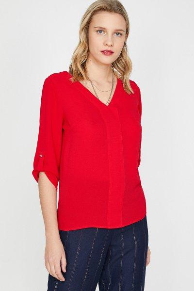 Koton Kırmızı Bluz 9yak68711pw