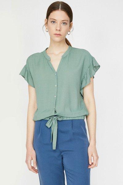 Koton Yeşil Gömlek 9yak68500pw