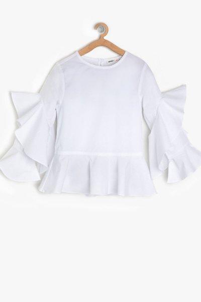 Koton Beyaz Bluz 9ykg67799aw