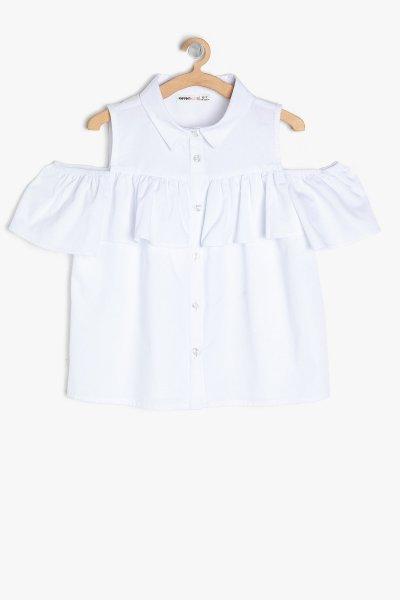 Koton Beyaz Gömlek 9ykg67387ow