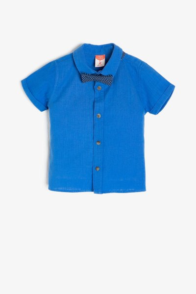 Koton Mavi Gömlek 9ymb68807ow