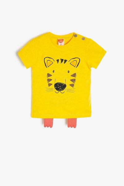 Koton Sarı T-shirt 9ymb18194zk