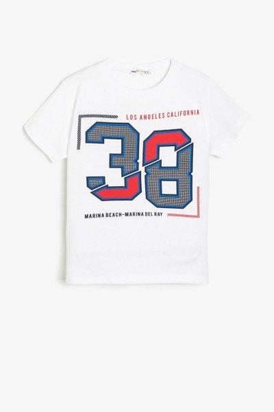9ykb16119ok Koton Beyaz Tişört