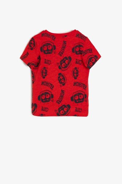 Koton Kırmızı T-shirt 9ymb18603zk