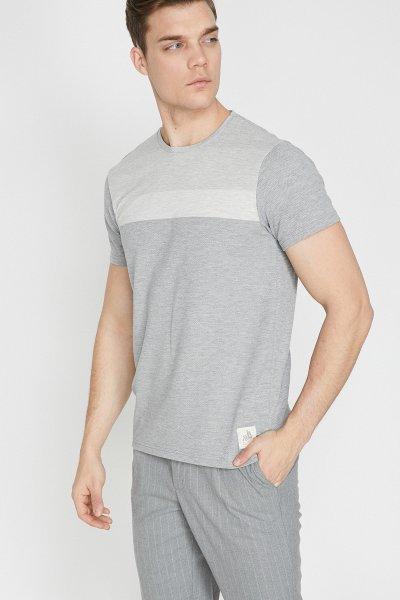 Koton Gri T-shirt 9yam14392ok
