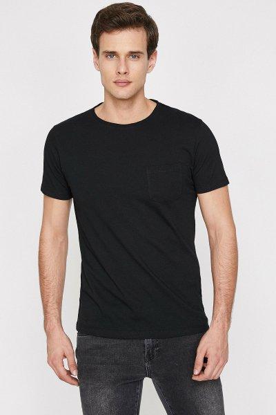 Koton Siyah T-shirt 9yam15067lk