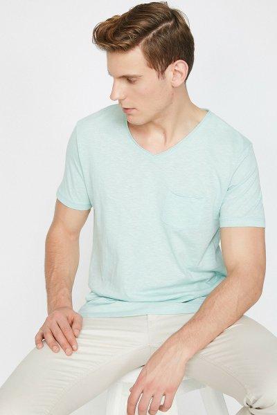 Koton Açık Yeşil T-shirt 9yam15058lk