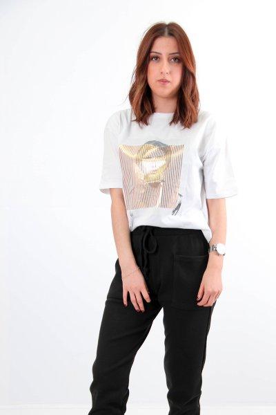 Baskılı T-shirt 5978