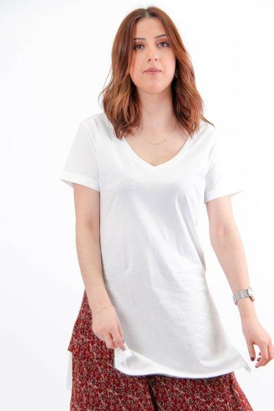 V Yaka T-shirt 21132
