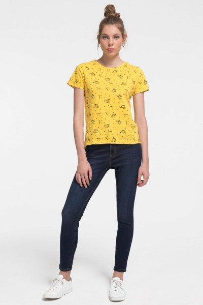Loft Natalie Denim Skinny Fit Kadın Pantolon Lf2018646