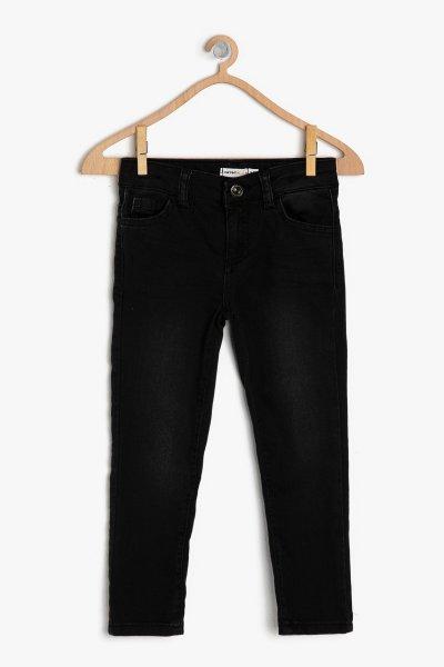 Koton Siyah Pantolon 9ykb46366md