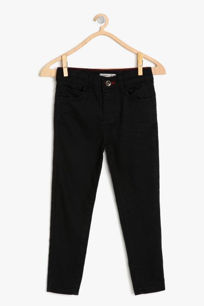 Koton Siyah Pantolon 9ykb46365md