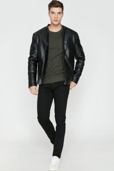 Koton Siyah Pantolon 9yam43114ld