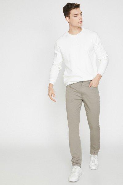 Koton Taş Pantolon 9yam42565nw
