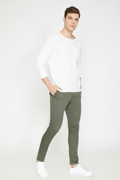 Koton Yeşil Pantolon 9yam42550nw