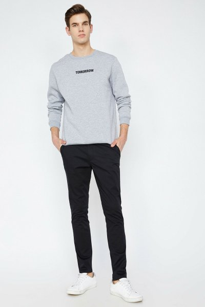 Koton Siyah Pantolon 9yam42550nw