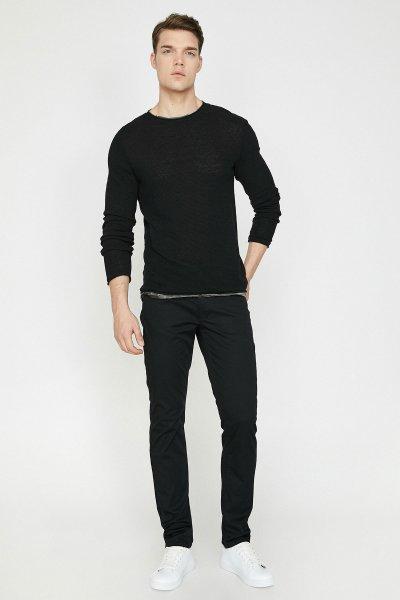 Koton Siyah Pantolon 9yam42555nw