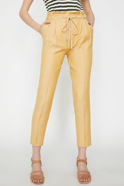 Koton Sarı Pantolon 9yak42932uw