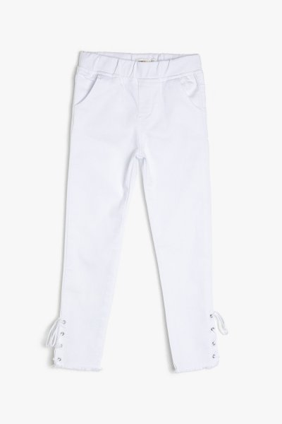 Koton Beyaz Pantolon 9ykg47838ow