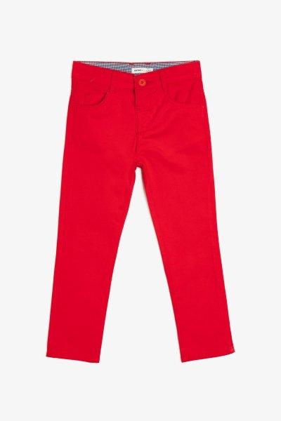 Koton Kırmızı Pantolon 9ykb46219ow