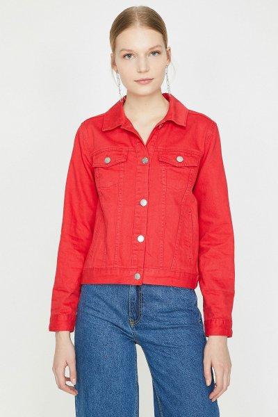 Koton Kırmızı Ceket 9yak57505md