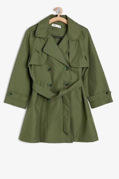 Koton Haki Trenchcoat 9ykg07455ow