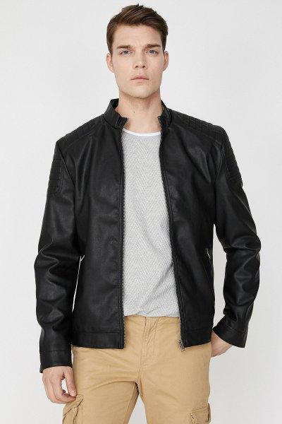 9yam24467ow Koton Siyah Ceket