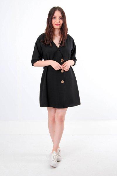 9949 Dilvin Biye Detaylı Elbise