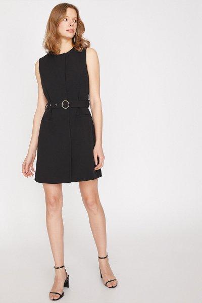 Koton Siyah Elbise 9yak36365ıw