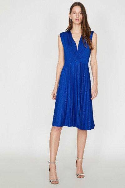 Koton Mavi Elbise 9yak84742fk