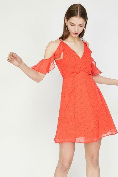 Koton Kırmızı Elbise 9yak84675fw