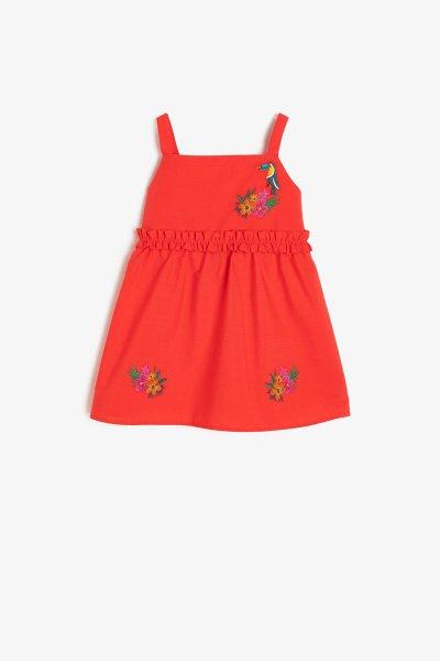 9ymg89231zw Koton Kırmızı Elbise