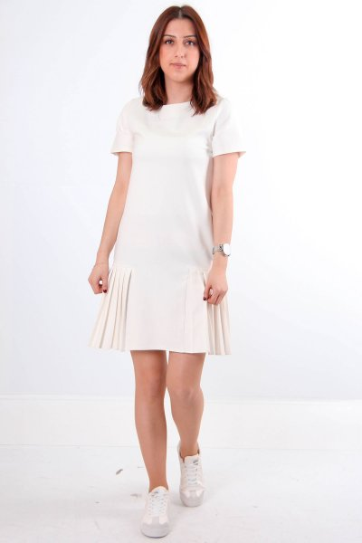 Eteği Piliseli Elbise 2216