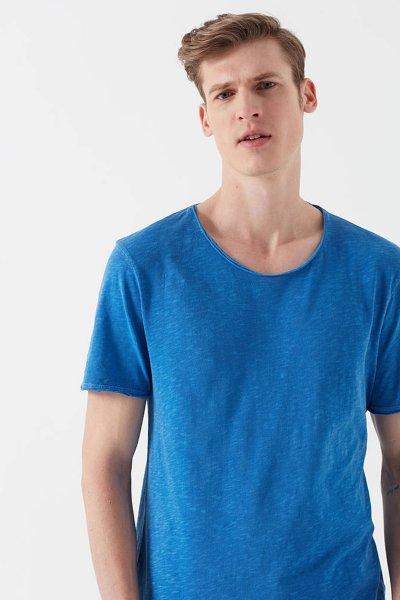 Mavi Erkek Mavi Basic T-shirt 063504-30718
