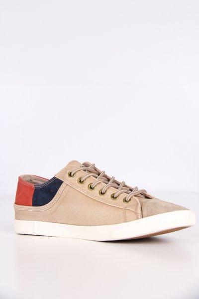 218658-285117 / Dockers Bej-laci-kırmızı Erkek Ayakkabı