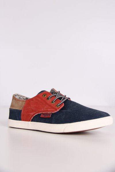 218660-285123 / Dockers Laci Kırmızı-bej Erkek Ayakkabı