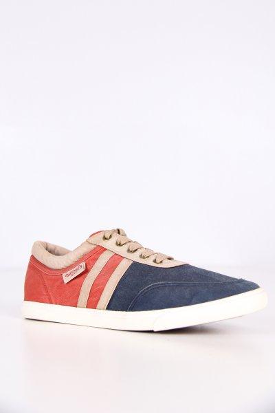 218661-285129 / Dockers Laci Bej Kırmızı Erkek Ayakkabı